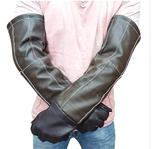DAN Animal Handling Gloves,Anti-bite/Scratch Gardening Wild