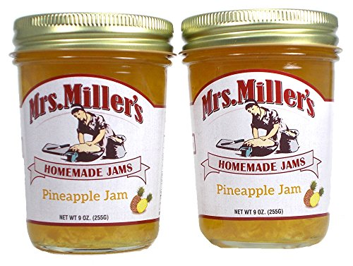 Pineapple Jam (Amish Made) -2 / 9 Oz. Jars