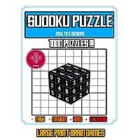 Deals on Sudoku Puzzle Adults & Seniors 1000 Puzzles Paperback