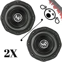 2 NEW Audiopipe TXXBD212 12 4 Ohm 3000W MAX Dual 1500W RMS CAR SUBWOOFERS PAIR