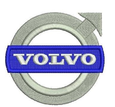 109 Blau caprica91 Volvo Car Polo Bordado s/úper una Primera algod/ón
