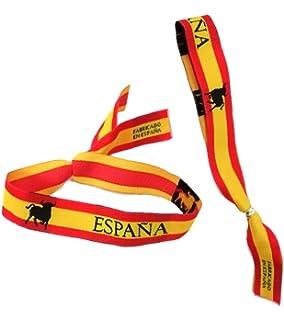 Regalo Original Pulsera de España con entrepieza Personalizada con ...
