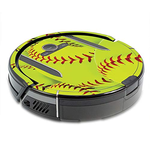 MightySkins Skin Compatible with Shark Ion Robot R85 Vacuum Minimum Coverage - Softball Collection | Protective, Durable, and Unique Vinyl Decal wrap Cover | Easy to Apply, Remove | Made in The USA (Collection Vinyl Decals)