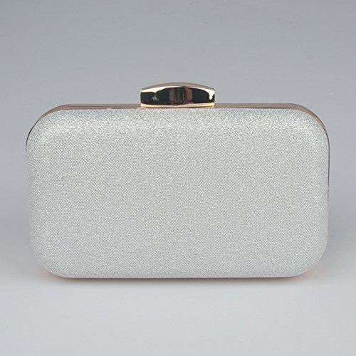 banquet chaîne de fameux la de silvery FYios le la main brillante et à de dure coquille fille main à la du mariée le sac sac la sac 4nqdR