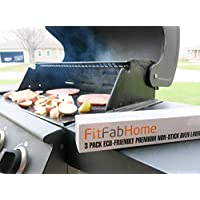 FitFabHome Non-Stick Oven Liners - using 2