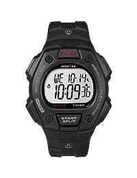 Timex Ironman Classic 30 - Reloj de pulsera (tamaño completo), Ironman, Negro/Red Accent