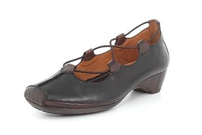 f55ff3756362 Pikolinos Womens Heel Gandia 849-2531 Black Slip-On - 37