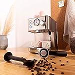 CREATE-IKOHS-THERA-CLASSIC-Macchina-del-caffe-per-espresso-argentato