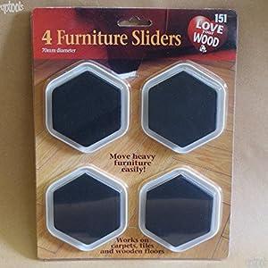 4 Furniture Sliders