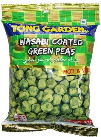 50 g. Tong Garden Wasabi Coated Green Peas Thailand Snack