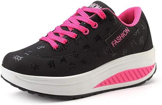ASTAOT Zapatillas De Deporte Femeninas En La Plataforma Zapatos ...