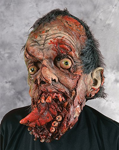Zagone Bite Your Tongue Mask, Gore, Male, Torn Jaw & Skin