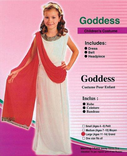 Large (Halloween Goddess Costume)