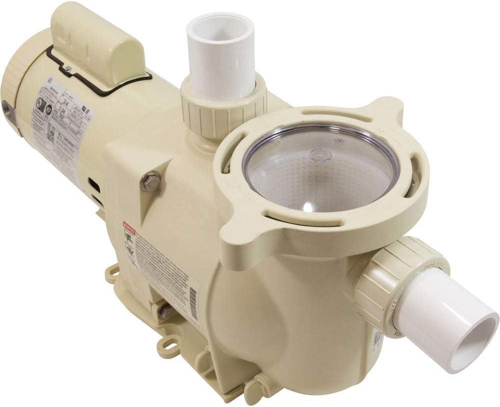 Pentair 340037 SuperFlo High Performance Single Speed Pool Pump, 3/4 Horsepower, 115/230 Volt, 1 Phase