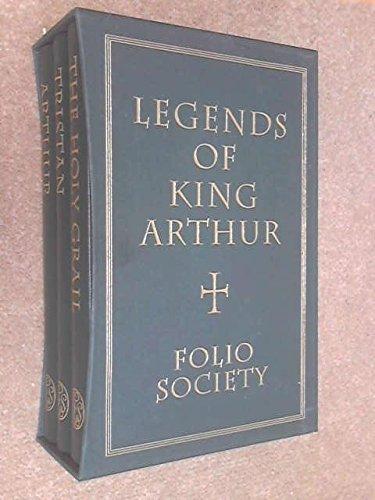 Legends of King Arthur (3 Volume Set: Arthur, Tristan, the Holy Grail), Barber, Richard--Editor; Illustrations by Roman Pisarev