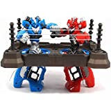 Toys Bhoomi Thumb-War Competitive Finger Ring Kids Fighting Boxing Robots Arena Playset
