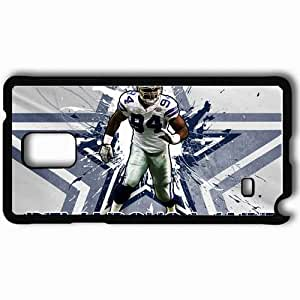 Personalized Samsung Note 4 Cell phone Case/Cover Skin 1332 dallas cowboys Black