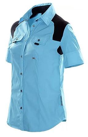 X-Bionic Travel Bluse Shirt Short Women - Camisa/Camiseta para ...