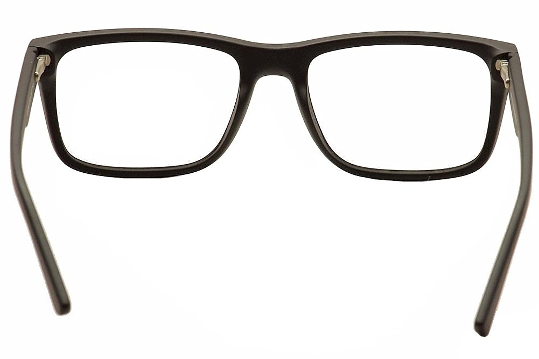 Amazon.com: Armani Exchange AX3016 Eyeglass Frames 8078-53 - Matte ...
