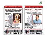 XpressID Holographic Emotional Support Dog & Handler ID Card | Includes Registration to National Dog Registry