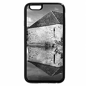 iPhone 6S Case, iPhone 6 Case (Black & White) - The mill and the old house