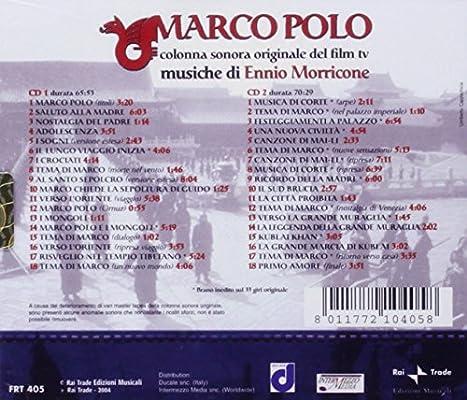 Marco Polo: Ennio Morricone: Amazon.es: Música