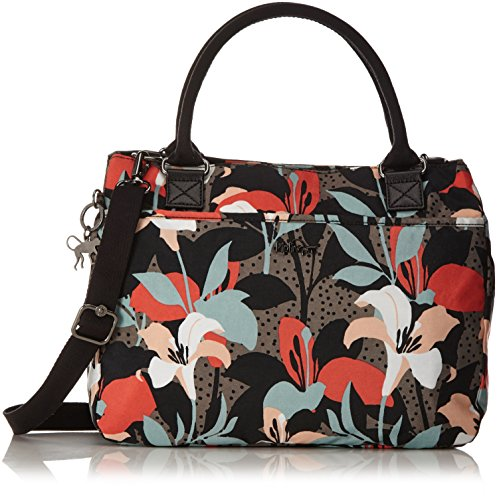 Kipling Caralisa - Bolso de mano Mujer Varios colores (Lily Garden)