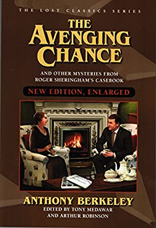 book cover of The Avenging Chance and Other Mysteries from Roger Sheringham\'s Casebook
