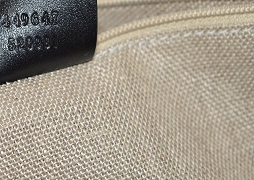 12dd9bcce74 Gucci Women s Micro GG Guccissima Leather Joy Purse Tote (Black)