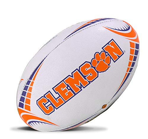 Rhino Rugby Clemson Tigers Full Size Rugby Ball - Home Jersey Rugby Usa