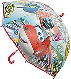 Fantasy superwings ombrello classico, 63cm, Rosso