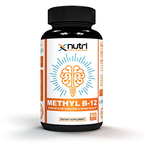 XNutri – Premium Vitamin B12 – Methyl B12 for Brain Cells, Metabolism and Energy 5000 mcg, 60 Tablets For Sale