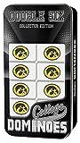 MasterPieces NCAA Iowa Hawkeyes Collector Edition Double Six Dominoes
