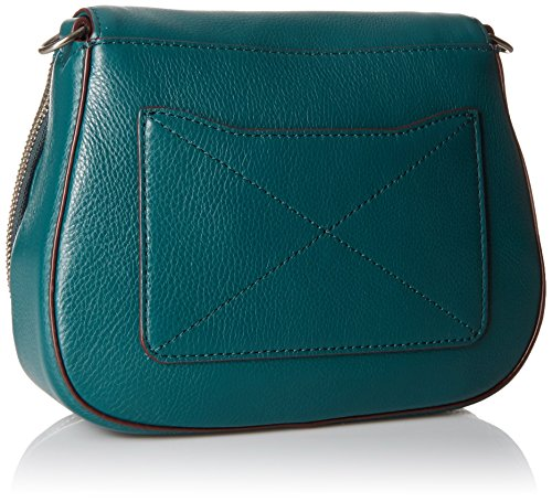 Bag Teal Studs Chipped Small Marc Shoulder Jacobs Saddle Recruit waqTOv0xg