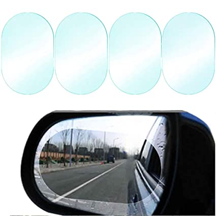 Amazon Com Car Rearview Mirror Film Anti Water Anti Fog Anti Glare