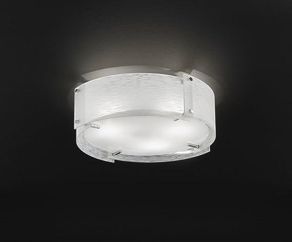 Plafoniere In Vetro Satinato : Plafoniere in vetro rossini illuminazione da acquistare online su