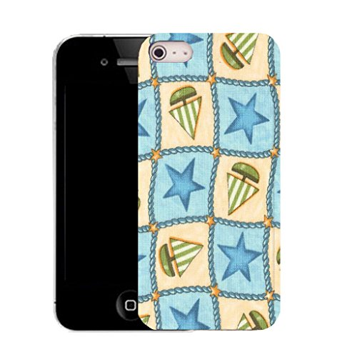 Mobile Case Mate iPhone 5c clip on Silicone Coque couverture case cover Pare-chocs + STYLET - sailing star pattern (SILICON)