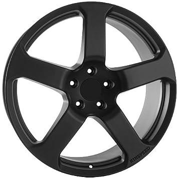 usarim b8-tqef-lx1s 22 inch 5 Spoke Negro Llantas de ruedas de Porsche Cayenne Panamera Rinspeed: Amazon.es: Coche y moto