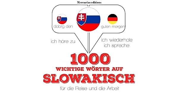 Amazoncom 1000 Wichtige Wörter Auf Slowakisch Für Die