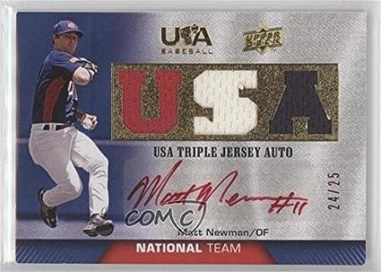 Amazoncom Matt Newman 2425 Baseball Card 2009 Upper Deck Usa