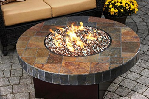 Stanbroil Stainless Steel Round Drop-In Fire Pit Burner Ring Pan, 13-Inch by Stanbroil (Image #6)