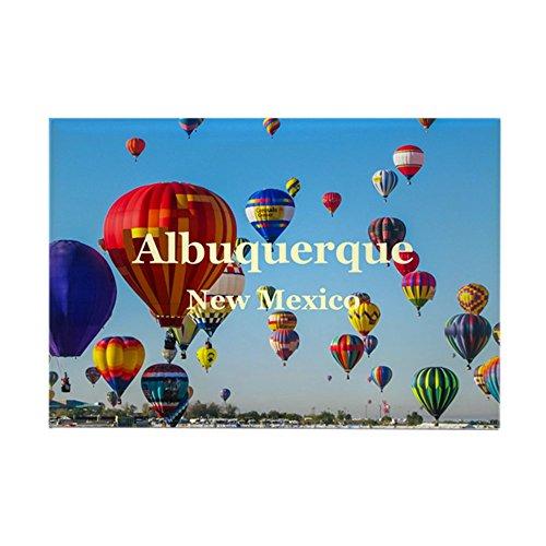 CafePress Albuquerque Rectangle Magnet, 2