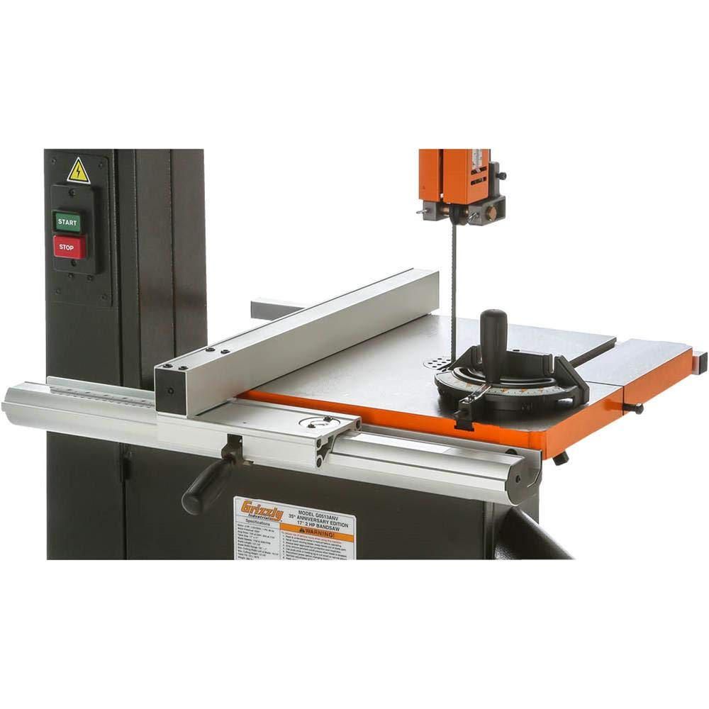 Grizzly G0513ANV 2 HP Bandsaw Anniversary Edition, 17-Inch by Grizzly (Image #5)