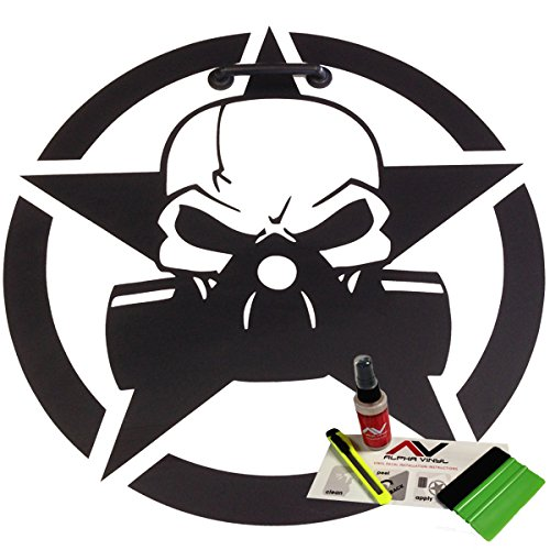 - Hood Decal Gas Mask 18