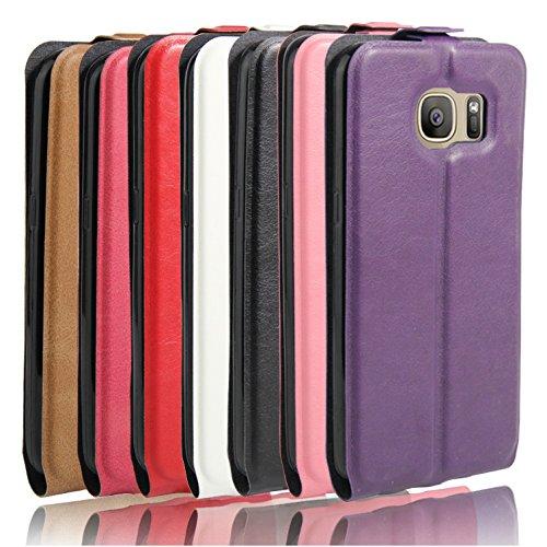 Funda Samsung Galaxy S7,Manyip Caja del teléfono del cuero,Protector de Pantalla de Slim Case Estilo Billetera con Ranuras para Tarjetas, Soporte Plegable, Cierre Magnético B