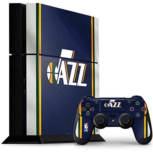 Utah Jazz PS4 Console and Controller Bundle Skin - Utah Jazz Team Jersey | NBA X Skinit Skin by Skinit