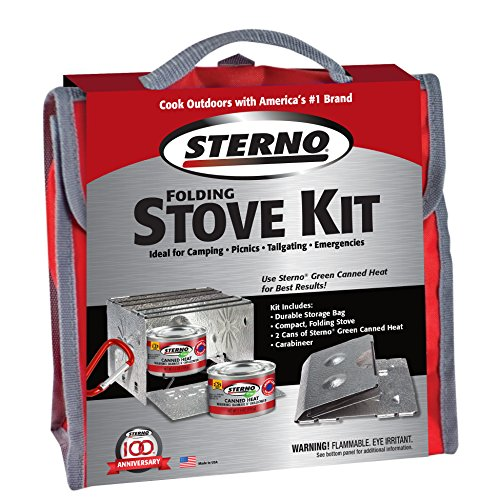 Sterno Outdoor Overnight Stove Kit