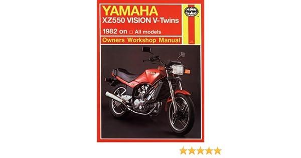 yamaha xz vision v twin 82 83 haynes repair manuals haynes rh amazon com Yamaha Virago 500 Yamaha Xzy