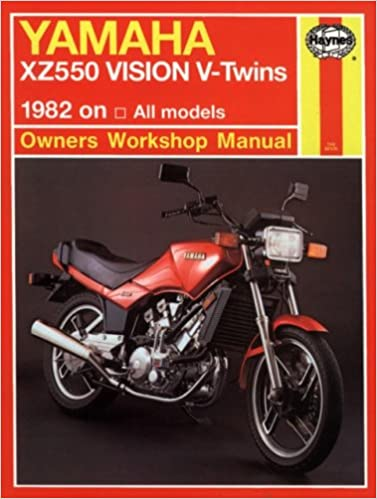 Yamaha xz vision v twin 8283 haynes repair manuals haynes yamaha xz vision v twin 8283 haynes repair manuals 1st edition fandeluxe Images