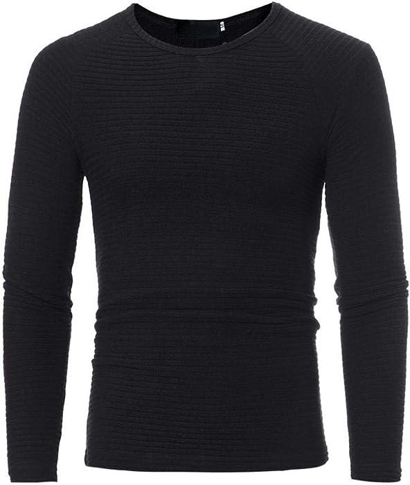 ed5886a58fa954 CieKen Men s Autumn Winter Casual Solid V-Neck Men s Slim Sweaters ...
